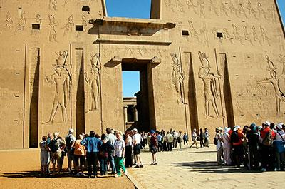 Full day tour visiting Edfu temple and Komombo Temple from Luxor