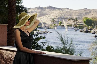 Day tour visiting Aswan highlights from Luxor