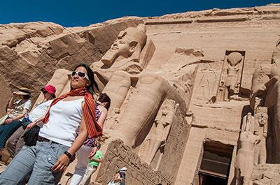 Abu Simbel from Aswan by road, private guided tour